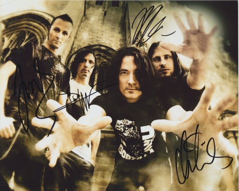 GOJIRA SIGNED 8X10 PHOTO 3