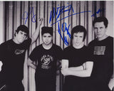 BILLY TALENT SIGNED 8X10 PHOTO 2