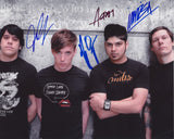 BILLY TALENT SIGNED 8X10 PHOTO 3