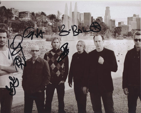 BAD RELIGION SIGNED 8X10 PHOTO