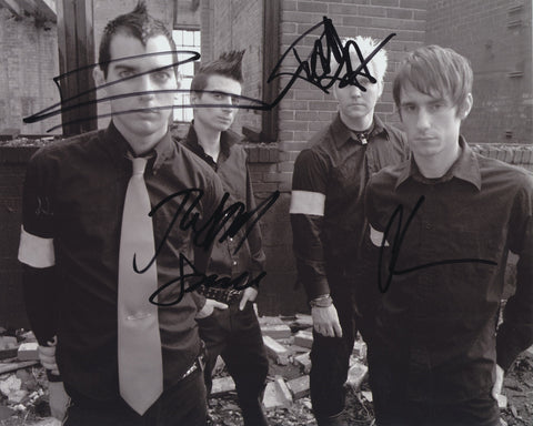 ANTI-FLAG SIGNED 8X10 PHOTO