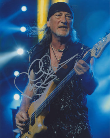 ROGER GLOVER SIGNED DEEP PURPLE 8X10 PHOTO 2