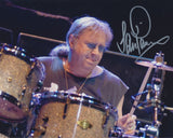IAN PAICE SIGNED DEEP PURPLE 8X10 PHOTO