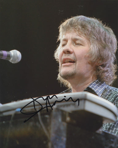 DON AIREY SIGNED DEEP PURPLE 8X10 PHOTO