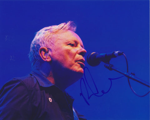 BERNARD SUMNER SIGNED NEW ORDER 8X10 PHOTO
