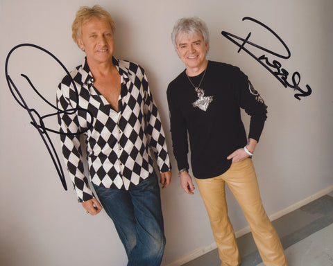 AIR SUPPLY SIGNED 8X10 PHOTO 3