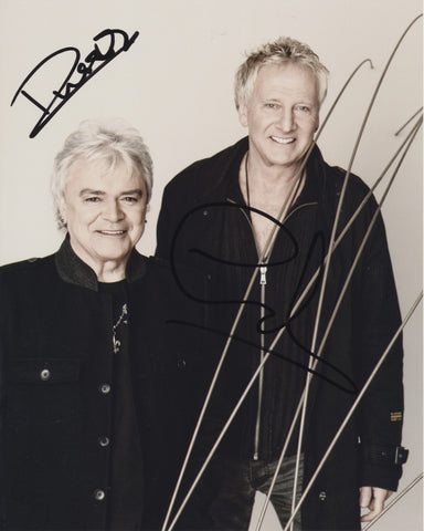 AIR SUPPLY SIGNED 8X10 PHOTO 4