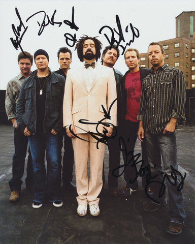 COUNTING CROWS SIGNED 8X10 PHOTO 2