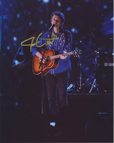 JIM CUDDY SIGNED BLUE RODEO 8X10 PHOTO