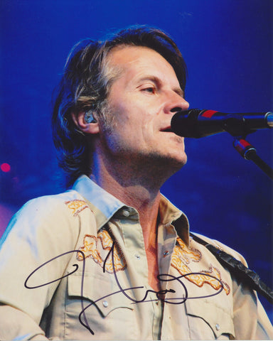 JIM CUDDY SIGNED BLUE RODEO 8X10 PHOTO 2