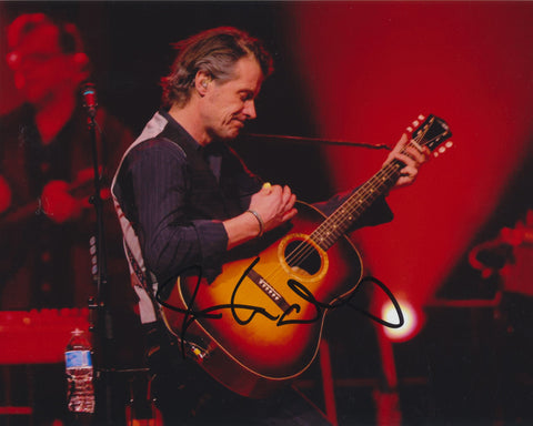 JIM CUDDY SIGNED BLUE RODEO 8X10 PHOTO 5