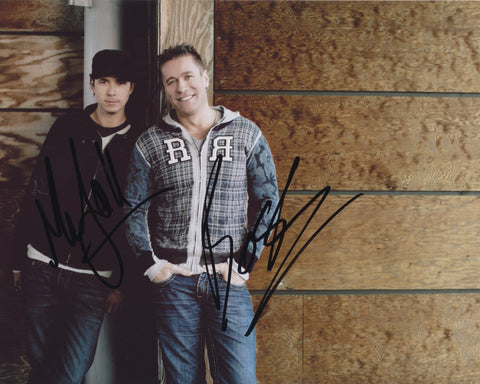 COSMIC GATE SIGNED 8X10 PHOTO 3