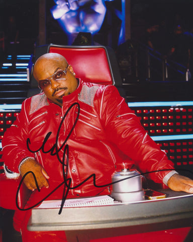 CEE LO GREEN SIGNED X FACTOR 8X10 PHOTO