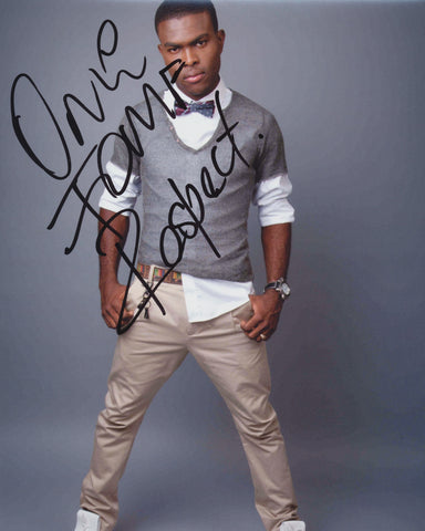 OMI SIGNED 8X10 PHOTO OMAR SAMUEL PASLEY