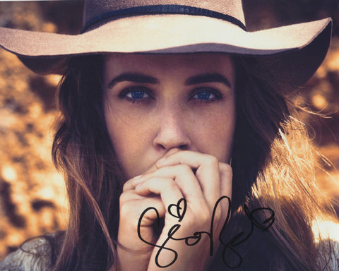 SERENA RYDER SIGNED 8X10 PHOTO