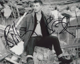 BILLY BRAGG SIGNED 8X10 PHOTO 2