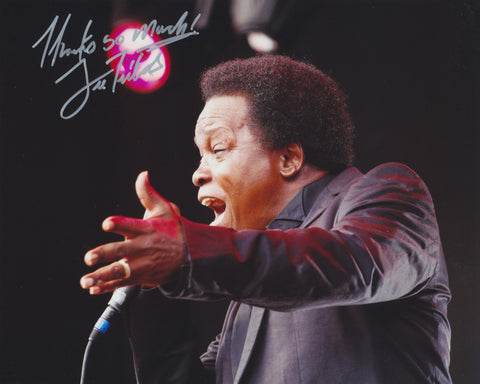 LEE FIELDS SIGNED 8X10 PHOTO