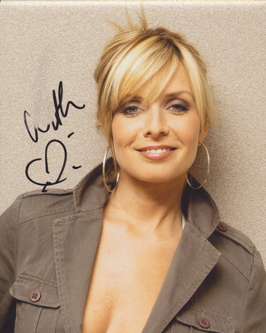 CANDY DULFER SIGNED 8X10 PHOTO