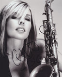 CANDY DULFER SIGNED 8X10 PHOTO 2