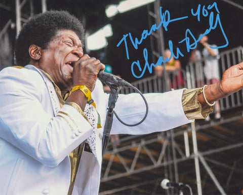 CHARLES BRADLEY SIGNED 8X10 PHOTO