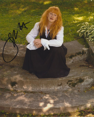 LOREENA MCKENNITT SIGNED 8X10 PHOTO 3