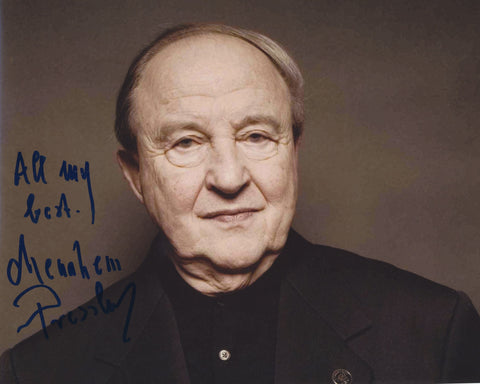 MENAHEM PRESSLER SIGNED 8X10 PHOTO