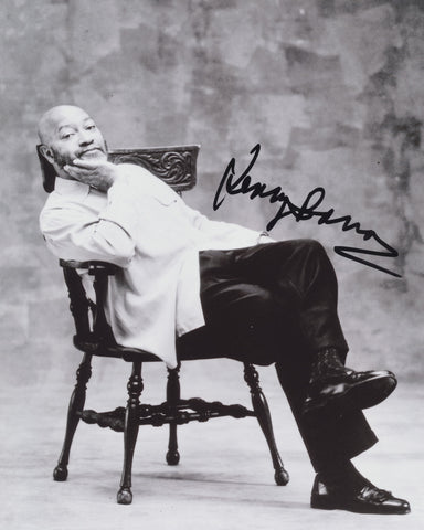 KENNY BARRON SIGNED 8X10 PHOTO