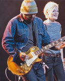 DANIEL LANOIS SIGNED 8X10 PHOTO 2