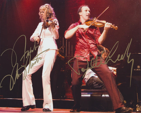 NATALIE MACMASTER AND DONNELL LEAHY SIGNED 8X10 PHOTO