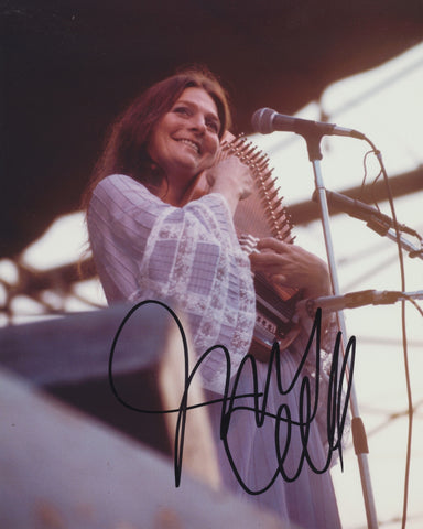 JUDY COLLINS SIGNED 8X10 PHOTO 4