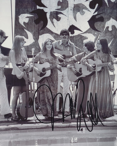 JUDY COLLINS SIGNED 8X10 PHOTO 5