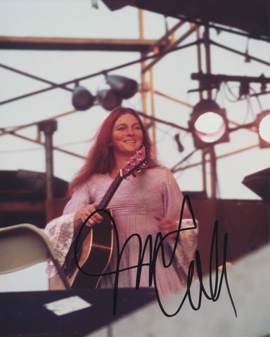 JUDY COLLINS SIGNED 8X10 PHOTO 7