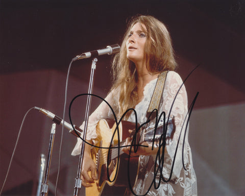 JUDY COLLINS SIGNED 8X10 PHOTO 8
