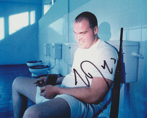 VINCENT D'ONOFRIO SIGNED FULL METAL JACKET 8X10 PHOTO