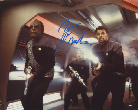 JONATHAN FRAKES SIGNED STAR TREK 8X10 PHOTO 3
