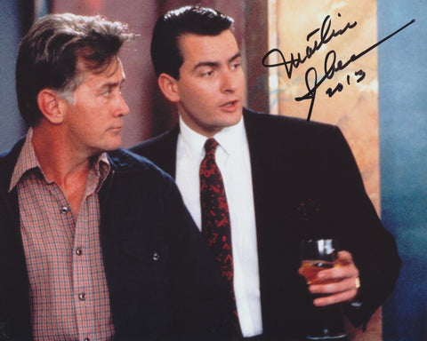 MARTIN SHEEN SIGNED WALL STREET 8X10 PHOTO