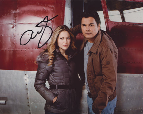 ADAM BEACH SIGNED ARCTIC AIR 8X10 PHOTO