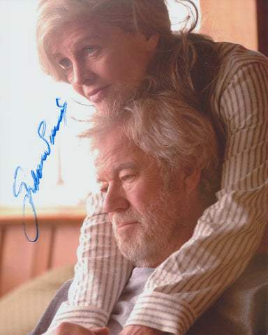 GORDON PINSENT SIGNED AWAY FROM HER 8X10 PHOTO