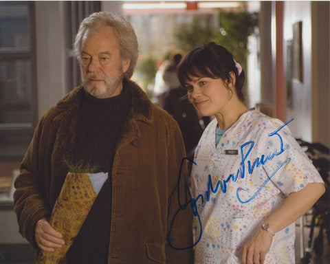 GORDON PINSENT SIGNED AWAY FROM HER 8X10 PHOTO 3