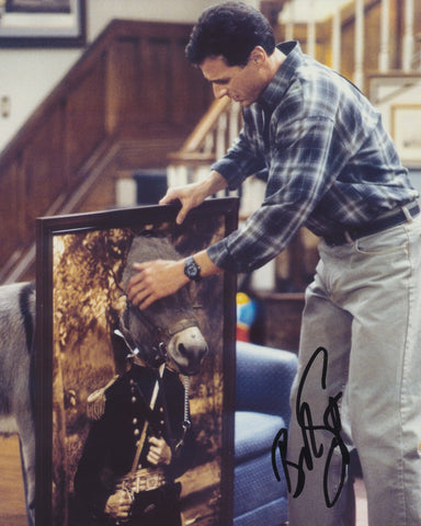 BOB SAGET SIGNED FULL HOUSE 8X10 PHOTO 4