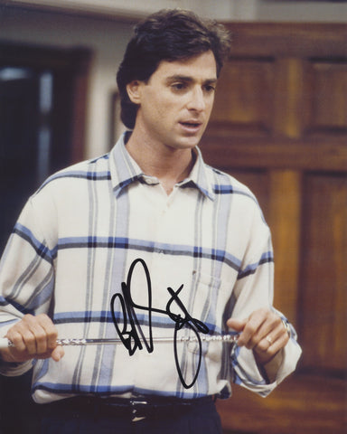BOB SAGET SIGNED FULL HOUSE 8X10 PHOTO 5