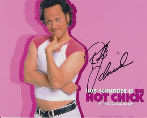 ROB SCHNEIDER SIGNED THE HOT CHICK 8X10 PHOTO