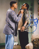 DJ JAZZY JEFF SIGNED THE FRESH PRINCE OF BEL AIR 8X10 PHOTO