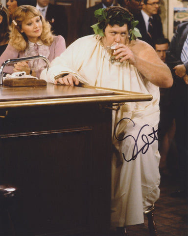 GEORGE WENDT SIGNED CHEERS 8X10 PHOTO 2