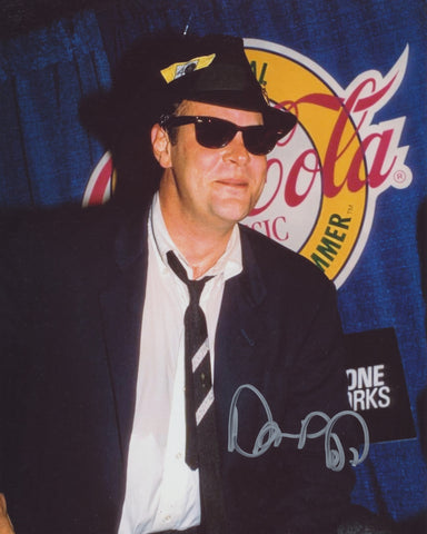 DAN AYKROYD SIGNED THE BLUES BROTHERS 8X10 PHOTO