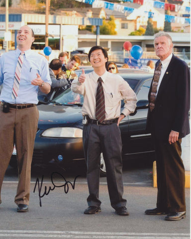 KEN JEONG SIGNED THE GOODS: LIVE HARD, SELL HARD 8X10 PHOTO