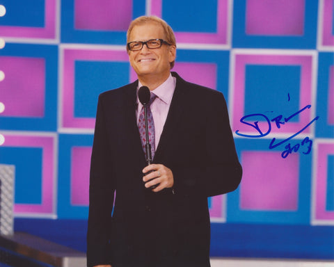 DREW CAREY SIGNED THE PRICE IS RIGHT 8X10 PHOTO