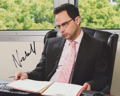 NICK KROLL SIGNED THE LEAGUE 8X10 PHOTO