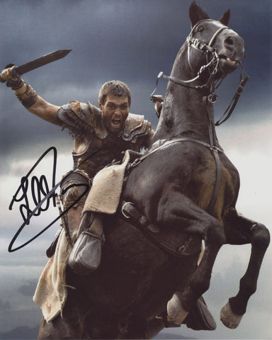 LIAM MCINTYRE SIGNED SPARTACUS 8X10 PHOTO 4