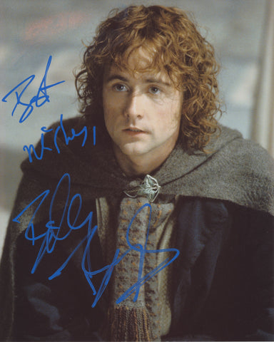 BILLY BOYD SIGNED LORD OF THE RINGS 8X10 PHOTO